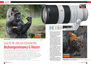 Sony FE 70–200 mm f/2,8 GM OSS