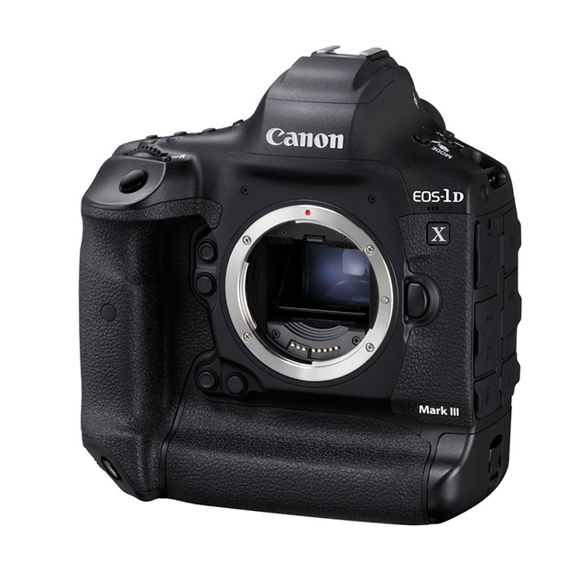 Canon EOS 1DX Mark III slant