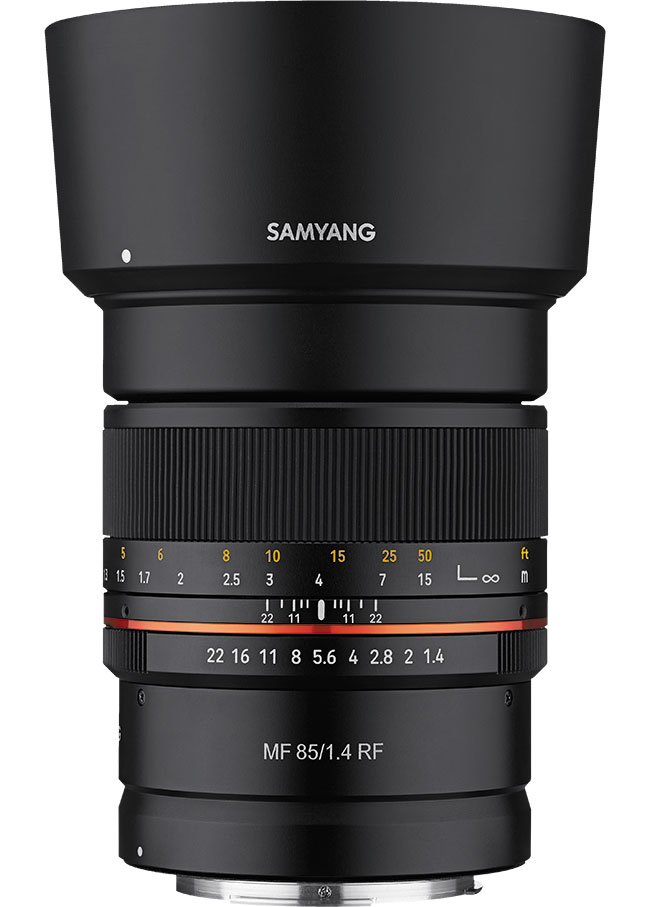Samyang MF 85 mm f/1,4 RF