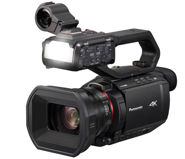 Panasonic AG-CX10 - najmniejsza inajlżejsza kamera 4K 50p/60p.