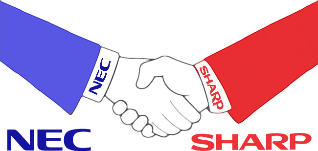 NEC and Sharp Announce Joint Venture to Combine Display Solution Businesses