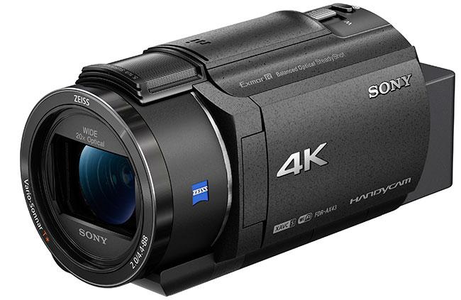 Miniaturowa kamera 4K Handycam FDR-AX43
