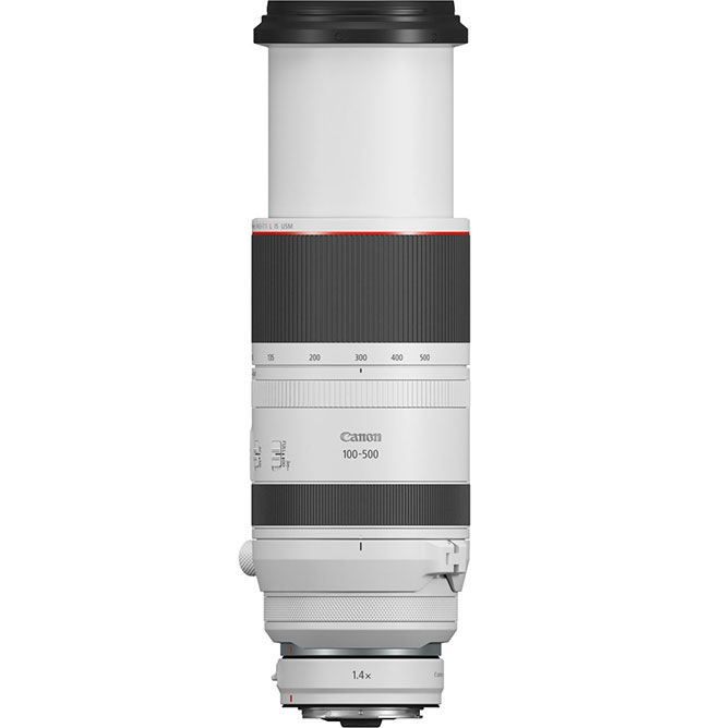 Canon RF 100-500 mm f/4,5-7,1L IS USM – kompaktowy iwszechstronny