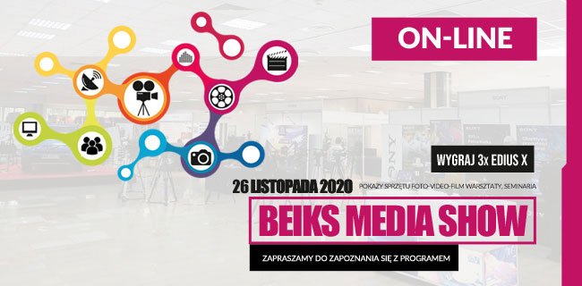 BEIKS MEDIA SHOW ON LINE - 26.11.2020