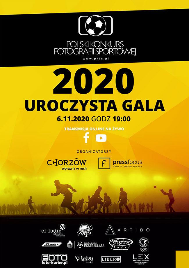 Uroczysta gala Polskiego Konkursu Fotografii Sportowej