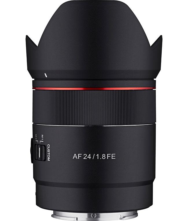Samyang AF 24 mm f /1,8 FE doastrofotografii