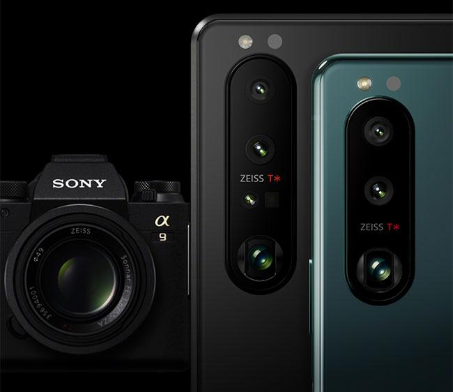 Sony Xperia 1 III iXperia 5 III - smartfony zteleobiektywami ozmiennej ogniskowej