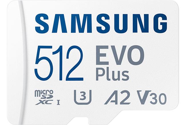 Nowa generację kart: Samsung microSD iSD zserii PRO Plus iEVO Plus